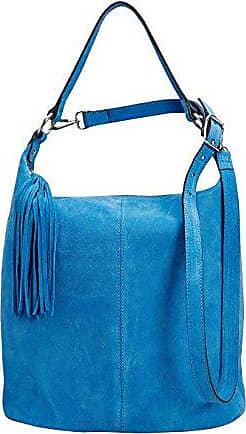 Damen Bucket-Tasche mit Holzhenkel Natur Einheitsgröße Next