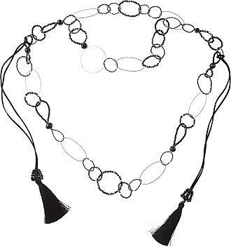 Nightmarket Necklaces, Azure, Crystal, 2017, One Size