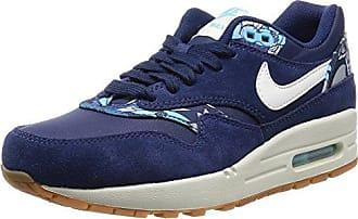 Nike - Wmns Air Max 1 Print, Zapatillas Altas Mujer, Azul (Blue 401Blue 401), 38 EU