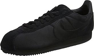 Classic Cortez Nylon, Zapatillas para Hombre, Negro (Black/Black-White 012), 45.5 EU Nike
