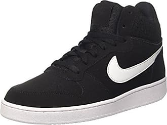 Mens Court Borough Mid Gymnastics Shoes, Black (Black M T L C Pewterkhakiwhite 005), 6 UK Nike