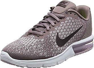 Nike Wmns Air Max Sequent 2, Zapatillas Para Mujer, Negro (Black/Racer Pink/Anthracite/Cool Grey/Wolf Grey/White), 37.5 EU