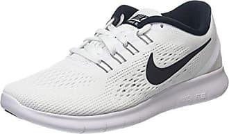 Nike Tanjun, Sneakers Basses Femme, Blanc (White/Metallic Silver 101), 40.5 EU