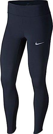 W NK PWR Epic LX Tght Mesh, Pantalones Deportivos para Mujer, BLU 451, 40 Nike