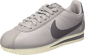 Wmns Classic Cortez Leather, Zapatillas de Deporte para Mujer, Multicolor (Atmosphere Grey/Guns 017), 38 EU Nike
