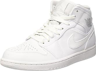 Nike - Air Jordan 1 - Baskets mi-hautes - Blanc 554724-104 - BlancNike
