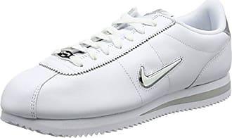 Nike Cortez Basic Jewel, Chaussures de Trail Homme, Blanc (White/Metallic Silver 101), 47.5 EU
