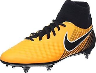 Nike Jr. Magista Onda II FG, Chaussures de Football Mixte Enfant, Orange (Laser Orange/Black-White-Vert Volt), 33 EU