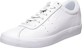 Nike Match Classic Leather, Zapatillas para Hombre, Blanco (White/White), 40.5 EU