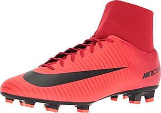 Nike Magista Onda II DF FG, Chaussures de Football Homme, Multicolore (Noir/Rouge Université/Cramoisi Brillant/Blanc), 45 EU