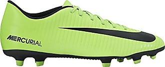 Nike Mercurialx Vortex III TF, Botas de Fútbol para Hombre, Multicolor (Electric Green/Black-Flash Lime-White), 42.5 EU