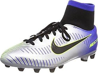 Nike - Jr Mercurial Victory V Fg, Botas de fútbol Unisex Niños, Rojo (Hyper Punch/metallic Gold/black/volt), 36.5 EU