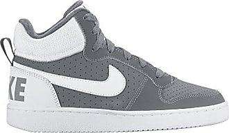 Nike Court Borough Mid (GS), Zapatillas de Baloncesto para Niños, Negro (Black/Black-Black 001), 38.5 EU