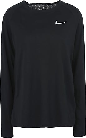 Nike ESSENTIAL TOP LONG SLEEVE METALLIC - CAMISETAS Y TOPS - Camisetas