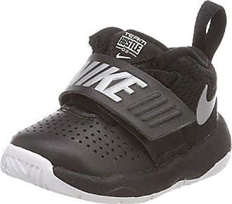 Nike Team Hustle D 8 (GS), Scarpe da Basket Uomo, Nero (Black/Metallic Silver/White 001), 38.5 EU