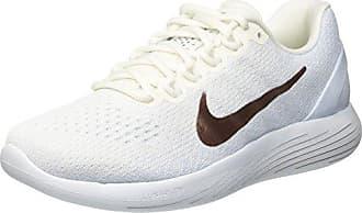 Nike WMNS Roshe One Print Prem, Chaussures de Sport Femme, Blanc Cassé-Blanco (Black/White), 42 1/2 EU