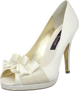 Gerry WEBERKatharina 01 - Zapatos de Tacón Mujer, Color Blanco, Talla 39