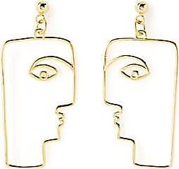 Nina Kastens Jewellery Geo face earrings