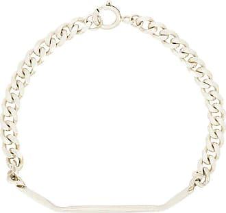 Niza Huang fold chain bracelet - Metallic