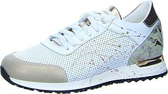 NOCLAIM Sneaker, mit handbemalten Farbklecksen, weiß, 38 38