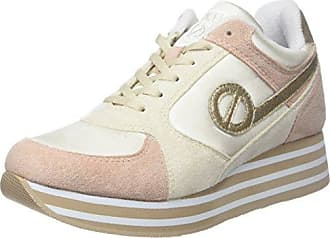 Plato Sneaker Patent/Polar, Baskets Basses Femme, Marron (Bordeaux/Bordeaux), 39 EUNo Name