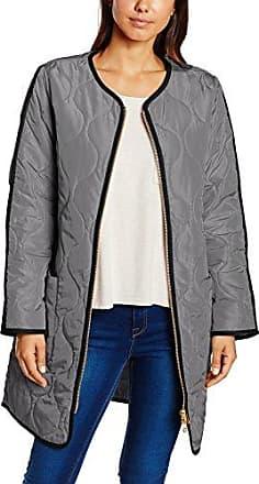Noa Blanket Coat, Abrigo para Mujer, Azul/Gris, ES 36 (DE 34)
