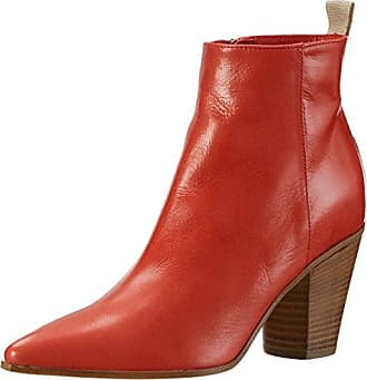 Nydia, Bottes Classiques Femme - Rouge - Red (Pom SDE) - 39 EU (6 UK)Lotus