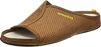 Nordikas 3115, Zapatillas de Estar por Casa con Talón Abierto para Hombre, Marrón (Brown), 44 EU