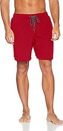 F.lli Campagnolo Bañador corto para hombre Rojo rojo neón y naranja Talla:large