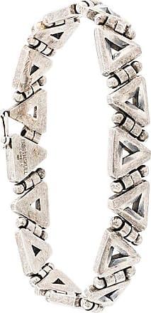 Northskull triangle link bracelet - Metallic