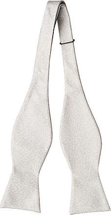 Self tie bow tie - Diamond shaped white dots on apricot base Notch