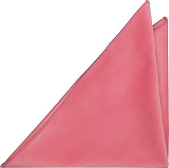 Pocket Square - Solid twill in light coral pink Notch