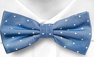 Pre tied bow tie - Persian green twill, snowmen with hat & scarf Notch