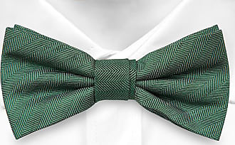 Pre-tied Bow Tie - Brown base with a multicoloured zigzag pattern Notch