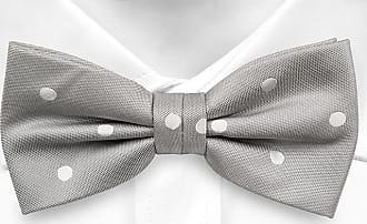Pre tied bow tie - Grey Graph check - Notch EINSTEIN Notch