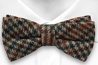 Pre tied bow tie - Orange Checkered - Notch DOUGLAS Notch
