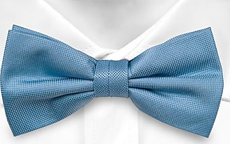 Pre tied bow tie - Slick herringbone pattern in silver and pink Notch