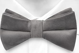 Pre tied bow tie - Grey Stripes on zigzag - Notch KOLYA Notch