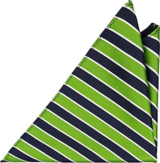 Necktie - Moss-knitted green silk with white v-dots - Notch LUUK Notch
