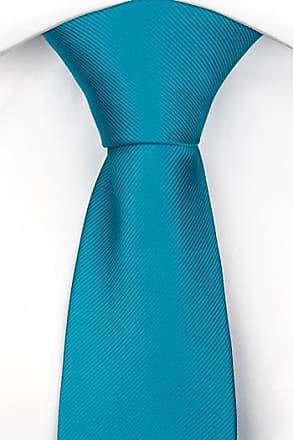 Tie from Tieroom, Notch MORLEY, dark turquoise base & black licorice stripes Notch