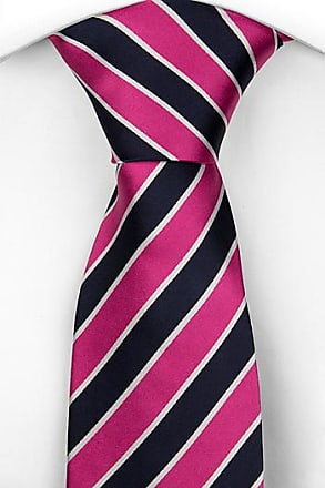 Slim necktie from Tieroom, Notch OSVALD, white flower pattern Notch