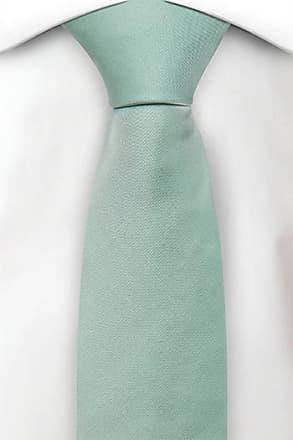 Silk Slim Necktie - Striped pattern i brown - Notch SIGGE Notch