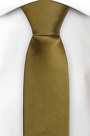 Silk self tie bow tie - Solid lion brown - Notch MODELEJON LION Notch