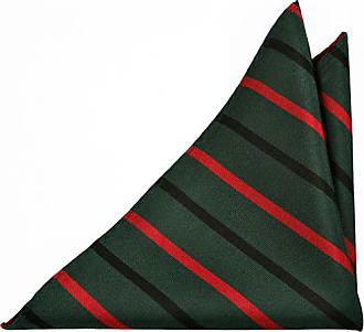 Boys tie - Stripes in black, yellow, red and white on red base Notch