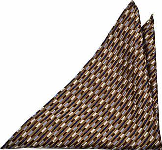 Handkerchief from Tieroom, Notch VALDEMAR, checked beige brown blue Notch