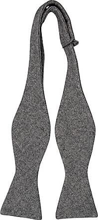 Wool necktie - Semi-solid, grey mix - Notch KJETIL Notch