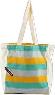 Novica Cotton tote, Beach Afternoon