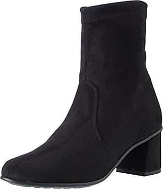 N200, Zapatos de Tacón con Punta Cerrada para Mujer, Gris (Asphalt Chamoias/Black Boston 06CMBT-E), 39 EU NR Rapisardi