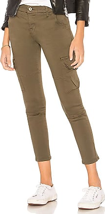 Faro Cropped Pant in Olive. - size M (also in L,S,XS) NSF