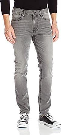 Lean Dean, Jeans Unisex Adulto, Gris (Pine Grey), L34/W30 Nudie Jeans